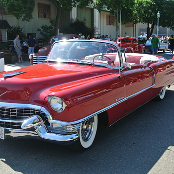 "1955 Cadillac Series 62 Convert at ""Back to the Fifties"" Car Show 2016 - Classic Cars"