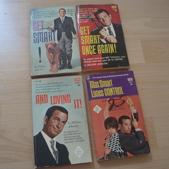 GET SMART BOOKS FROM 1966-69