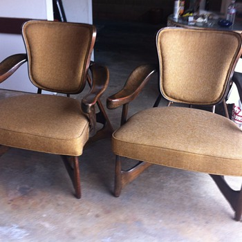 Unusual armchairs - identify?