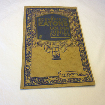 The T. EATON Co Limited, Toronto Golden Jubilee Souvenir - Advertising