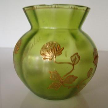 Art Nouveau Souvenir from Hahnenklee im Harz - Art Glass
