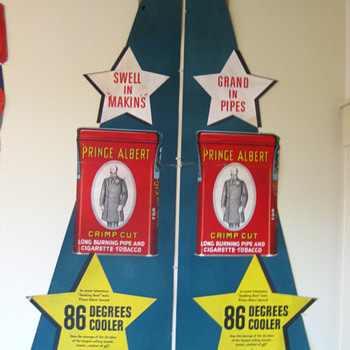 Prince Albert Advertising Displays