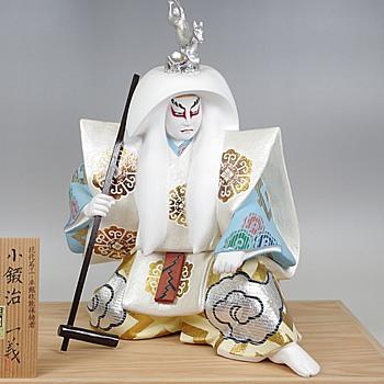 Kabuki Theme Japanese Hakata Doll :- Kokaji