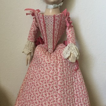 19th Century Antique Wooden Jointed Doll??