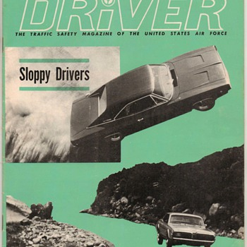 USAF Driver Magazine - February 1968 Issue - Paper