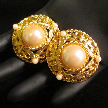 Earrings by Ivana Trump - Costume Jewelry