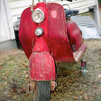 My First Lambretta D - Motorcycles