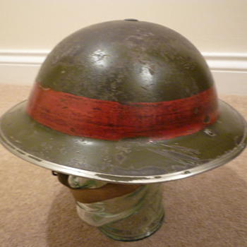 British WW11 Senior Fire/Rescue Officers helmet? - Military and Wartime