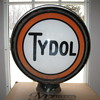 TYDOL Gas Pump GLOBE 1930's