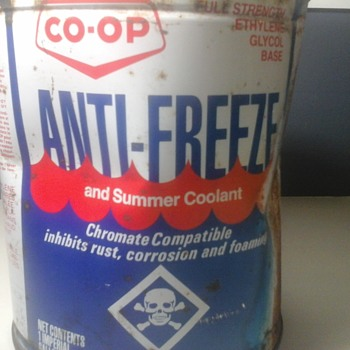 Co op Antifreeze Can
