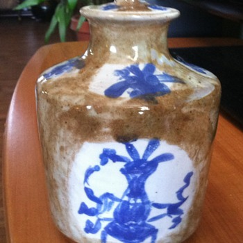 Little pottery jar