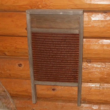 Vintage Metal Washboard