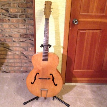 Arch top Guitar - you helped me partially identify! - Guitars