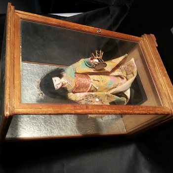 Antique Geisha Gofun Doll is this one of the old and rare ones? - Dolls