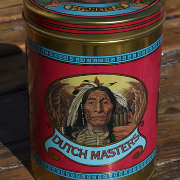 Vintage Dutch Masters Cigars Tin - Tobacciana