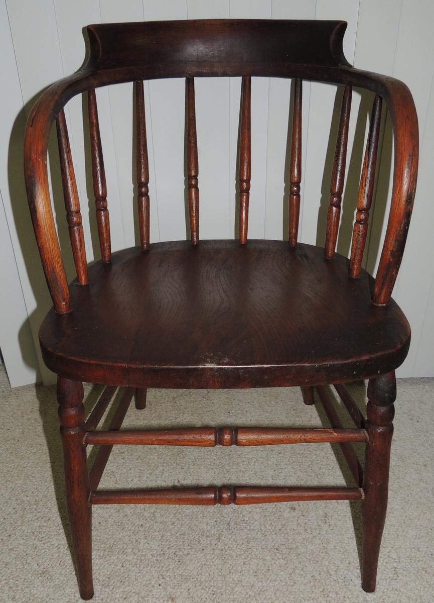 Antique bucket chair - Antique Bucket Chair 13