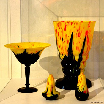 RUCKL MATERIALS FROM THE 2012 TANGO EXHIBIT IN PRAGUE - Art Glass