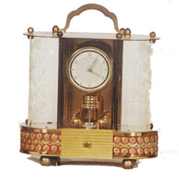 German anniversary 8 day shelf or mantle clock