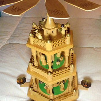 'Pyramid' maybe called 'Birth of Christ' by Kathe Wohlfahrt from Germany - Christmas