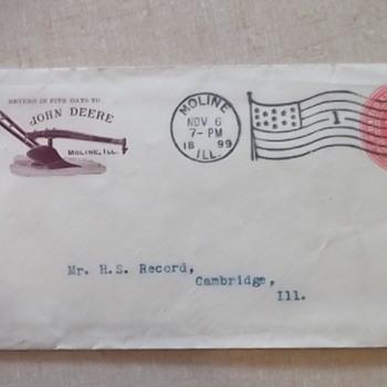 1899 John Deere Letter