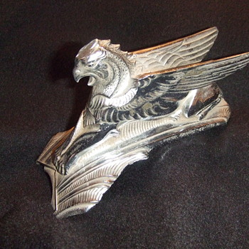 1932 Fairbanks Griffin Hood Ornament