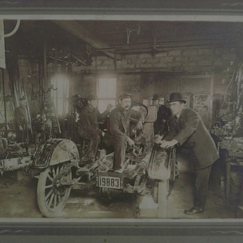 1912 Garage Photo - Photographs