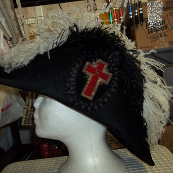 KNIGHTS TEMPLAR CEREMONIAL HAT - Hats
