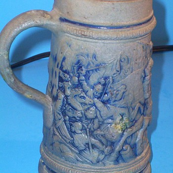 Early German Stein (or) Trash? - Breweriana