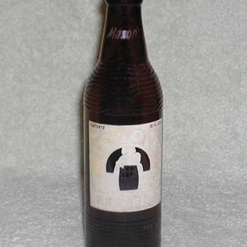 1952 Mason&#039;s Root Beer Bottle