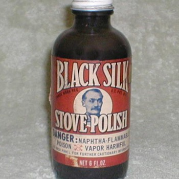 Black Silk Stove Polish