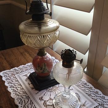 Nana's oil lamps - Lamps