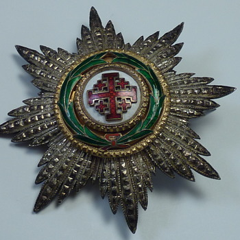 Large Silver Pin/Brooch  - Military and Wartime
