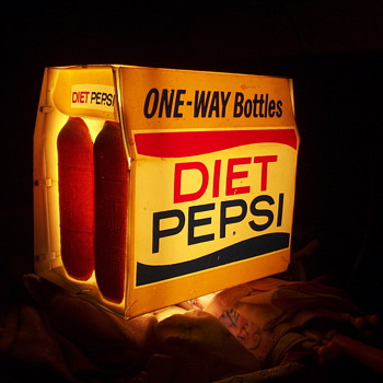 Diet pepsi light