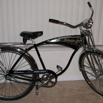 1970 Schwinn Heavy-Duti Bicycle Springer Front - Outdoor Sports