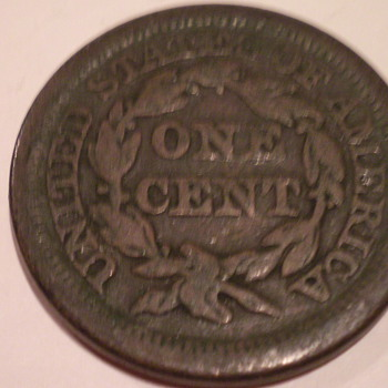 1850 Large cent - US Coins