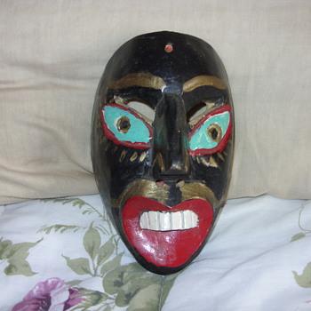 1939 mardi gras mask