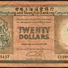 Hong Kong - (20) Dollars Bank Note - 1991