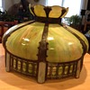 Antique Slag Glass Lampshade