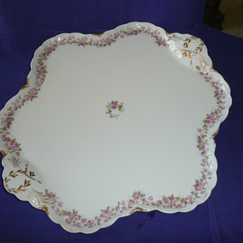Haviland Serving Tray