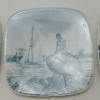3 Bing Grondahl Collector's Plates - Made in Denmark