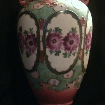 Japanese Moriage Vase