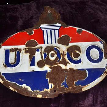 Old Signs - UTOCO, American Farm Bureau, Anchor Fence, Cyclone Fence - Signs