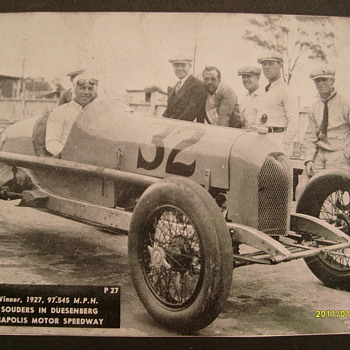 Old Indianapolis Motor Speedway Photo&#039;s - Photographs