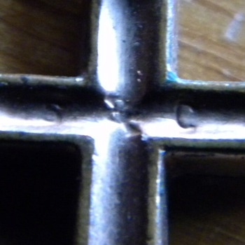 1950s Sarah Coventry Copper Cross Necklace