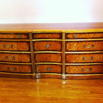 Would you describe this dresser as Biedermeier?  - Furniture