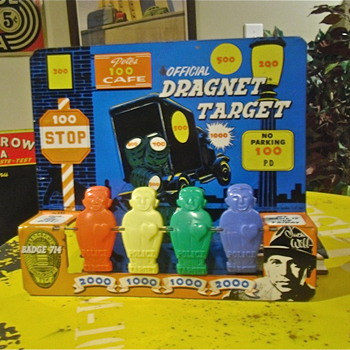 Jack Webb Dragnet Game