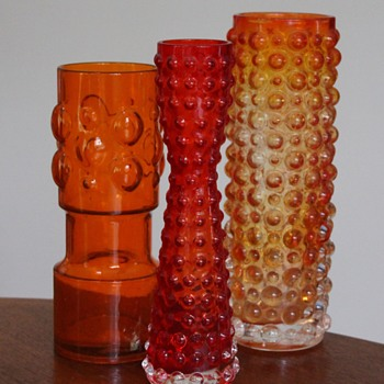 Hobnail glass from Japan 1