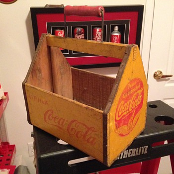 Early '40's Coca-Cola Bottle Carrier