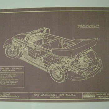 1957 VW Tech. Drawing