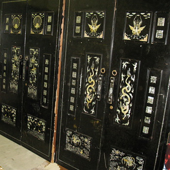 wardrobe doors - Asian